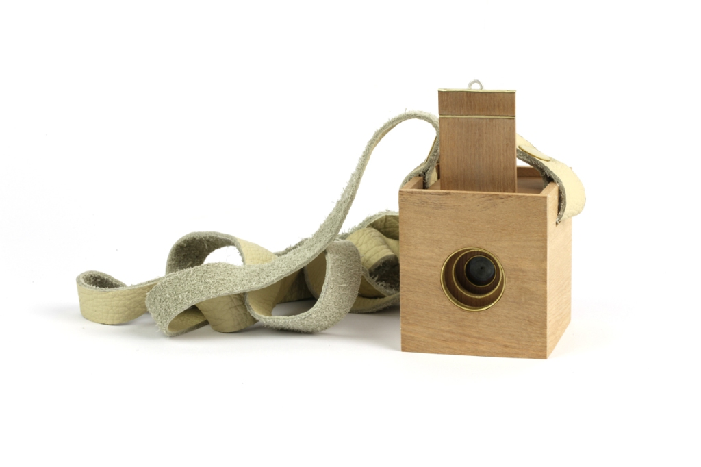 A Lure of the Elusive (2012) – Pinhole camera + case